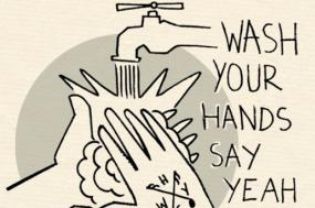 Cartaz do Festival Wash Your Hands Say Yeah