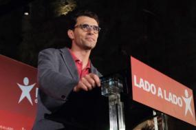 Jorge Costa. Noite eleitoral, Europeias 2019. Foto de Paula Nunes.