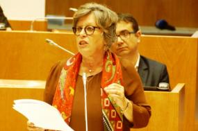 Zuraida Soares no Parlamento dos Açores. Foto esquerda.net.