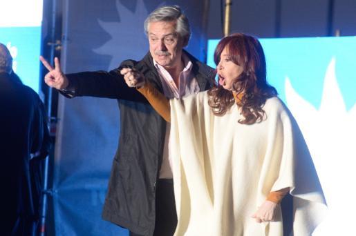 Argentina, Alberto Fernández e Cristina Fernández Kirchner - Foto de Julio Gelves/Epa/Lusa