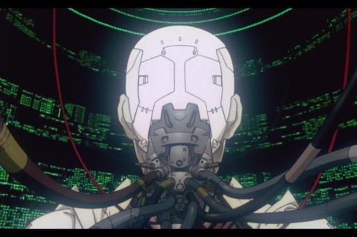 Ghost in the Shell, de Mamoru Oshii.