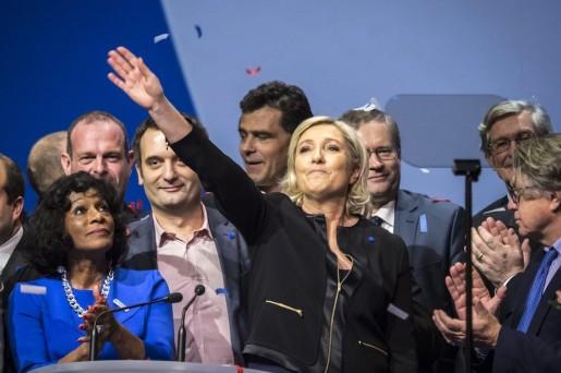 Marine Le Pen, foto de Arnold Jerocki, EPA/Lusa