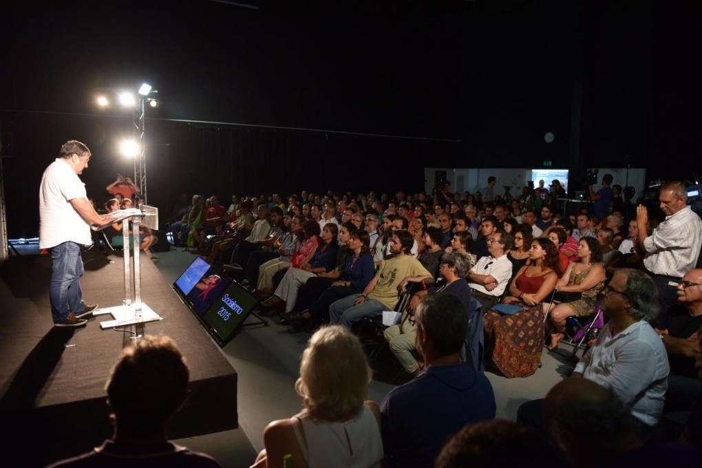 Fórum Socialismo 2015, organizado pelo Bloco de Esquerda no Porto.