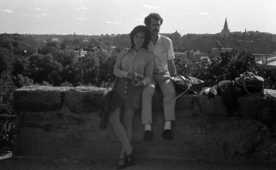 Conceição Cardeira e Fernando Mariano Cardeira em Estocolmo, 1971.