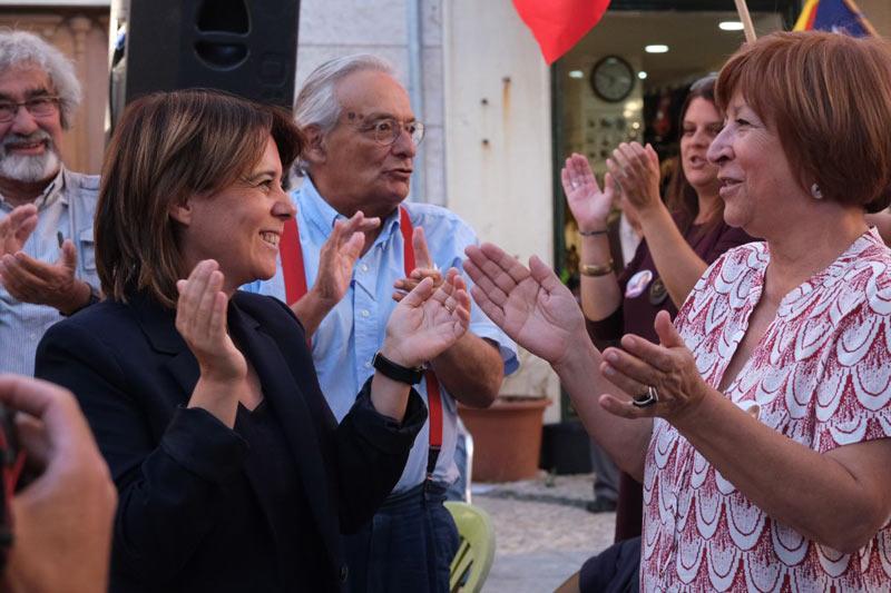 Cláudio Torres, Catarina Martins, Fernando Rosas e Mariana Aiveca.