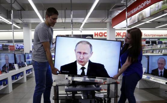 Vladimir Putin na TV