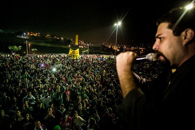 Guilherme Boulos - Foto Mídia Ninja