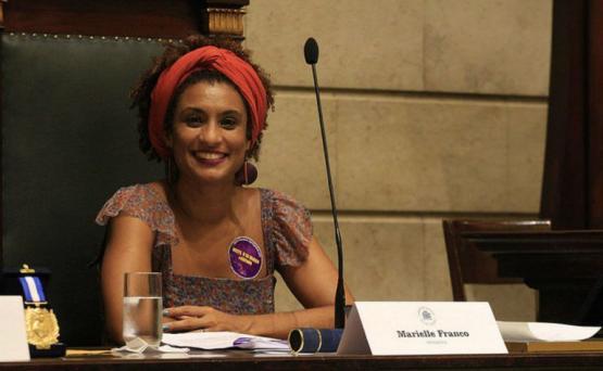Vereadora Marielle Franco assassinada no Rio de Janeiro