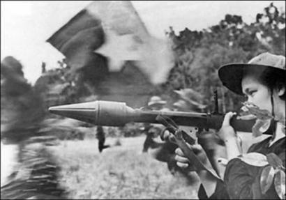 Imagem simbólica da ofensiva do Tet em 1968