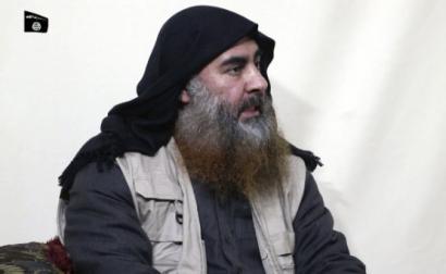 Abu Bakr al Baghdadi, aquando de uma alegada entrevista à Agência de Media do Estado Islâmico, Al Furqan