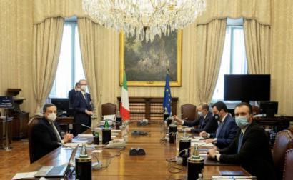 Mario Draghi e Matteo Salvini