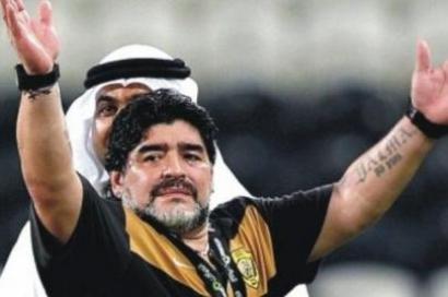 Maradona enfrenta a máfia do futebol há 25 anos. Foto de Nazionale Calcio