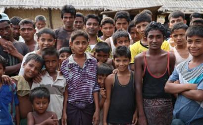 Refugiados Rohingya.