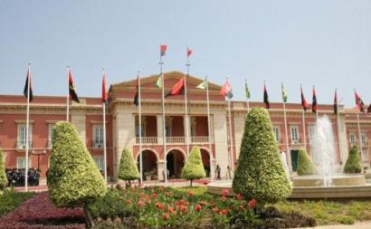 Presidência da República de Angola. Foto da instituição.