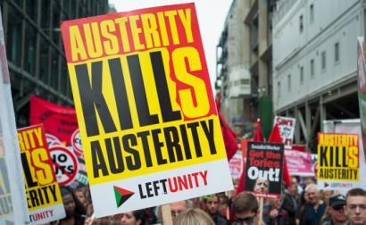 Marcha contra a austeridade. Londres, Junho de 2015. Foto de Jason/Flickr.