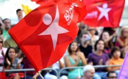 Bandeiras do Bloco.