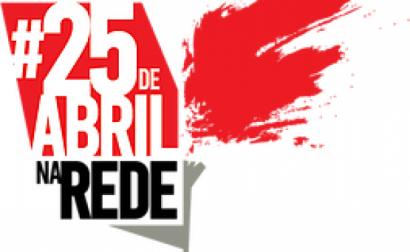 Foto da campanha #25deabrilnaRede.