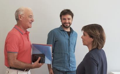 Catarina Martins e José Soeiro reuniram com Arménio Carlos, secretário-geral da CGTP.