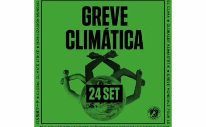 cartaz greve climática 22 de setembro 2021
