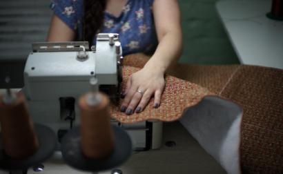 Máquina de costura. Foto de Oleg Green/Flickr.