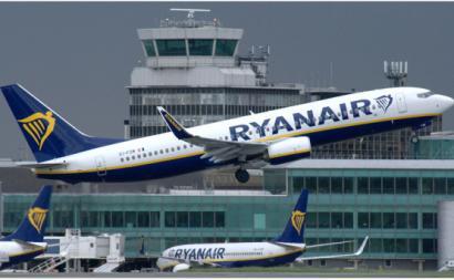aviões da Ryanair