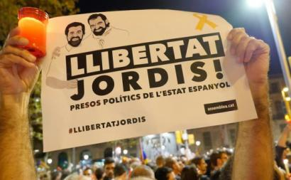 """""""Liberdade para os Jordis"""""""