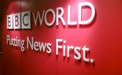 Logótipo da BBC World.