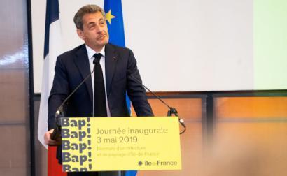 Nicolas Sarkozy em maio de 2019. Foto de Jacques Paquier/Flickr.