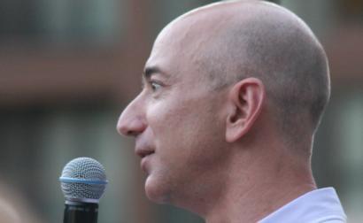 Jeff Bezos em agosto de 2019. Considerado o homem mais rico do mundo é acusado de perseguir os trabalhadores que se tentam organizar.