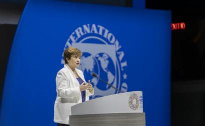 Kristalina Georgieva, diretora-geral do FMI. Foto: World Bank Photo Collection/Flickr
