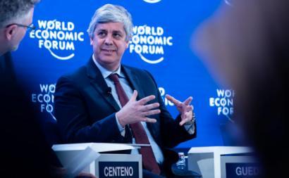 Mário Centeno. Foto: World Economic Forum/Flickr