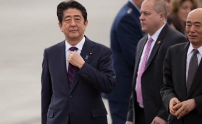 Shinzo Abe em 2016. Foto de Anthony Quintano/Flickr.