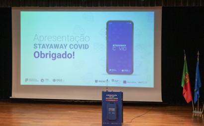 Apresentação da aplicação StayAway Covid no Politécnico do Porto. Foto de Patrícia Afonso/Politécnico do Porto/Flickr. Direitos Reservados.