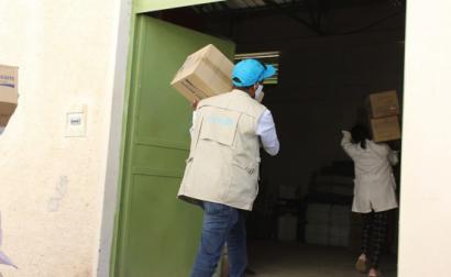 Ajuda de emergência da Unicef à população do Tigray. Fevereiro de 2021. Foto de UNICEF Ethiopia/Flickr.