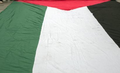 Bandeira palestiniana. Foto de Tim Dennell/Flickr.