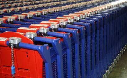 Carrinhos de Supermercado do MiniPreço. Foto de Polycarts/Flickr.