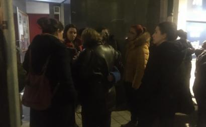 Moradores em solidariedade com Joana Pacheco, despejada pela Câmara do Porto.