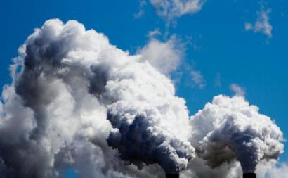 Poluição atmosférica.