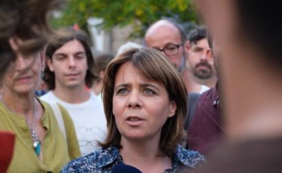 Catarina Martins em Amarante - Foto de Paula Nunes
