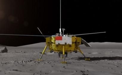 A chegada de uma sonda chinesa à face escondida da Lua foi um sinal para o mundo – Foto da sonda Chang'e-4