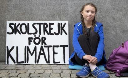 Greta Thunberg – Foto de Janek Skarzynski