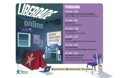 Acampamento Liberdade 2020 é online