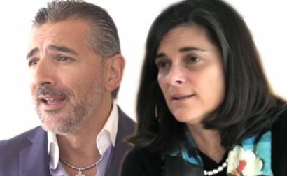 Alexandre Fonseca e Isabel Vaz.