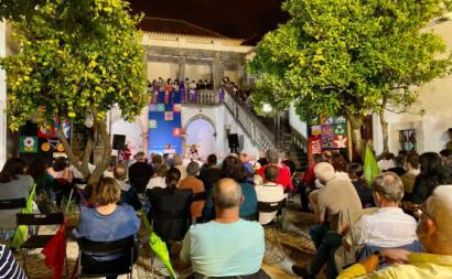 Comício do Bloco em Almada - Foto de Andreia Quartau