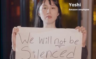 Trabalhadores da Amazon exigem compromisso da empresa com o clima