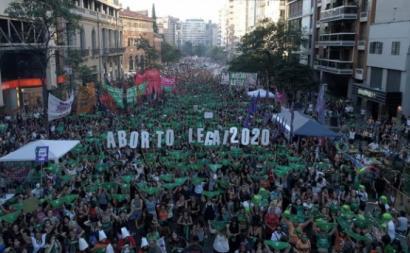 Argentina aborto legal em 2020 - foto de Opera Mundi