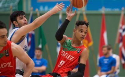 Jogo de Portugal nos Jogos Europeus da Juventude EPC 2019, na Finlândia.