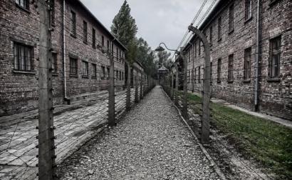 Campo de extermínio de Auschwitz.