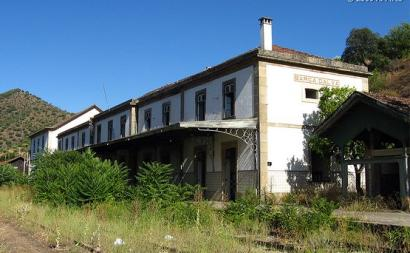 Estação ferroviária de Barca d'Alva - Foto de Antero Pires/flickr