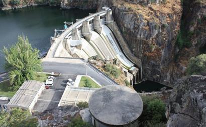Barragem de Picote - Foto de Reis Quarteu, Wikimedia